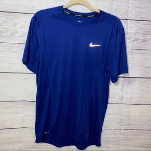 Nike Running Dri-Fit Tee with reflectors
